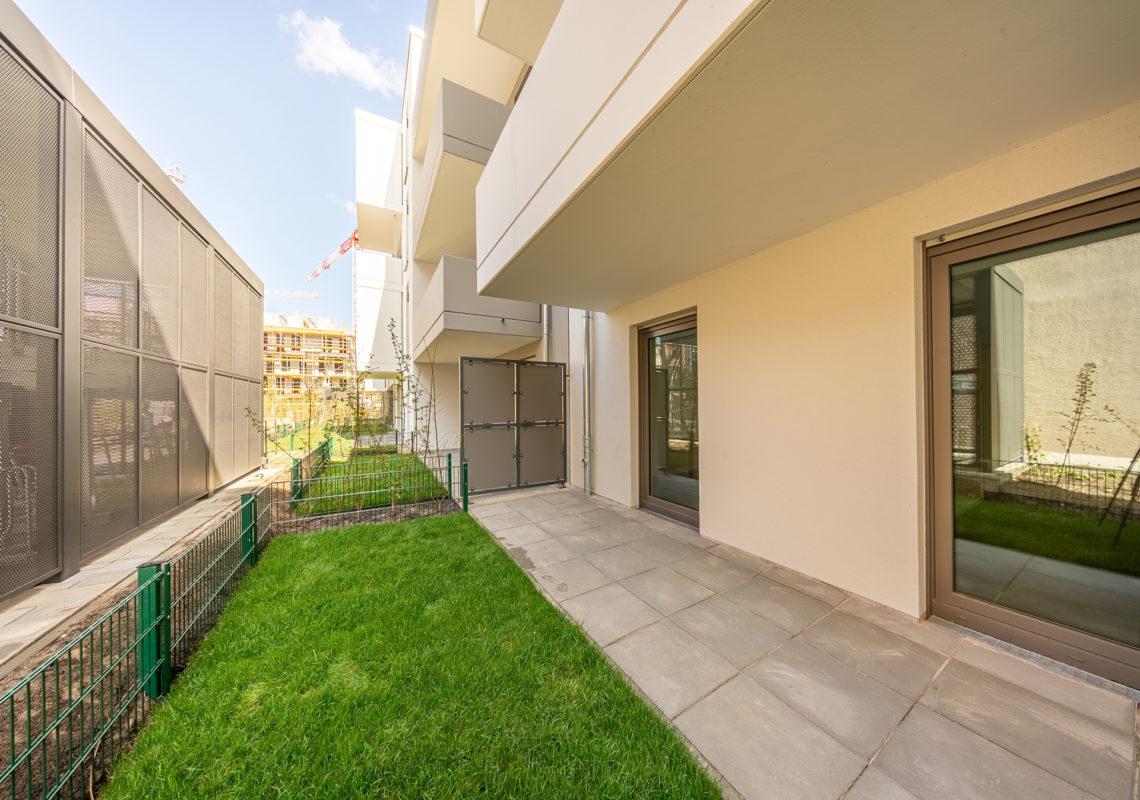 Wohnung mit Terrasse an der Waterkant