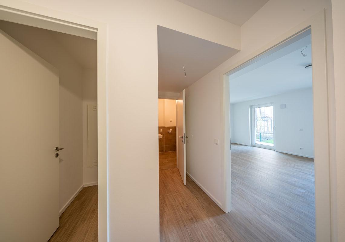 Schön geschnittene Wohnung an der Waterkant