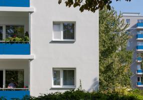 Häuserfassaden in Reinickendorf