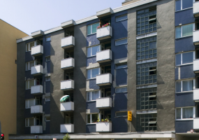 Häuserfassaden in Tiergarten