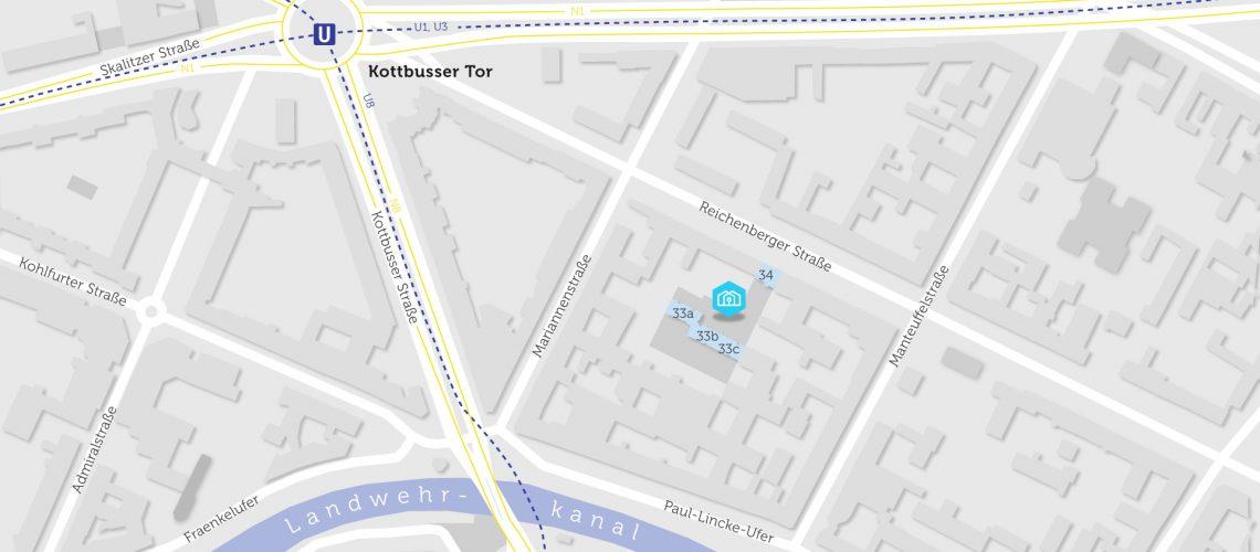 QS-Karte Reichenberger Straße