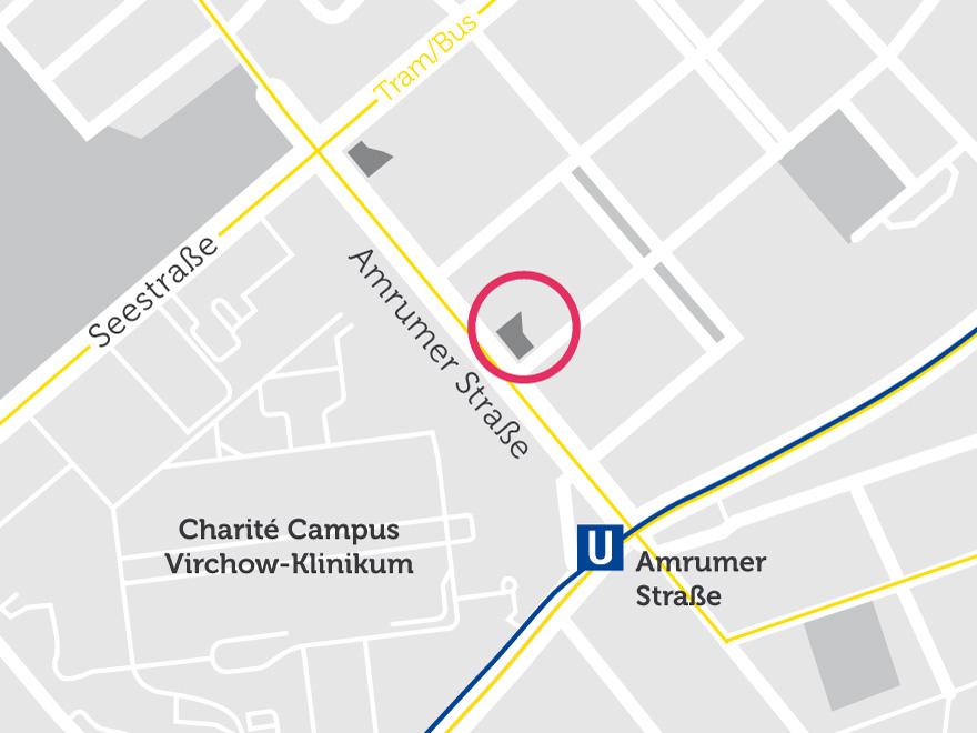 Lageplan der neuen Studentenwohnungen im Süden der Amrumer Straße