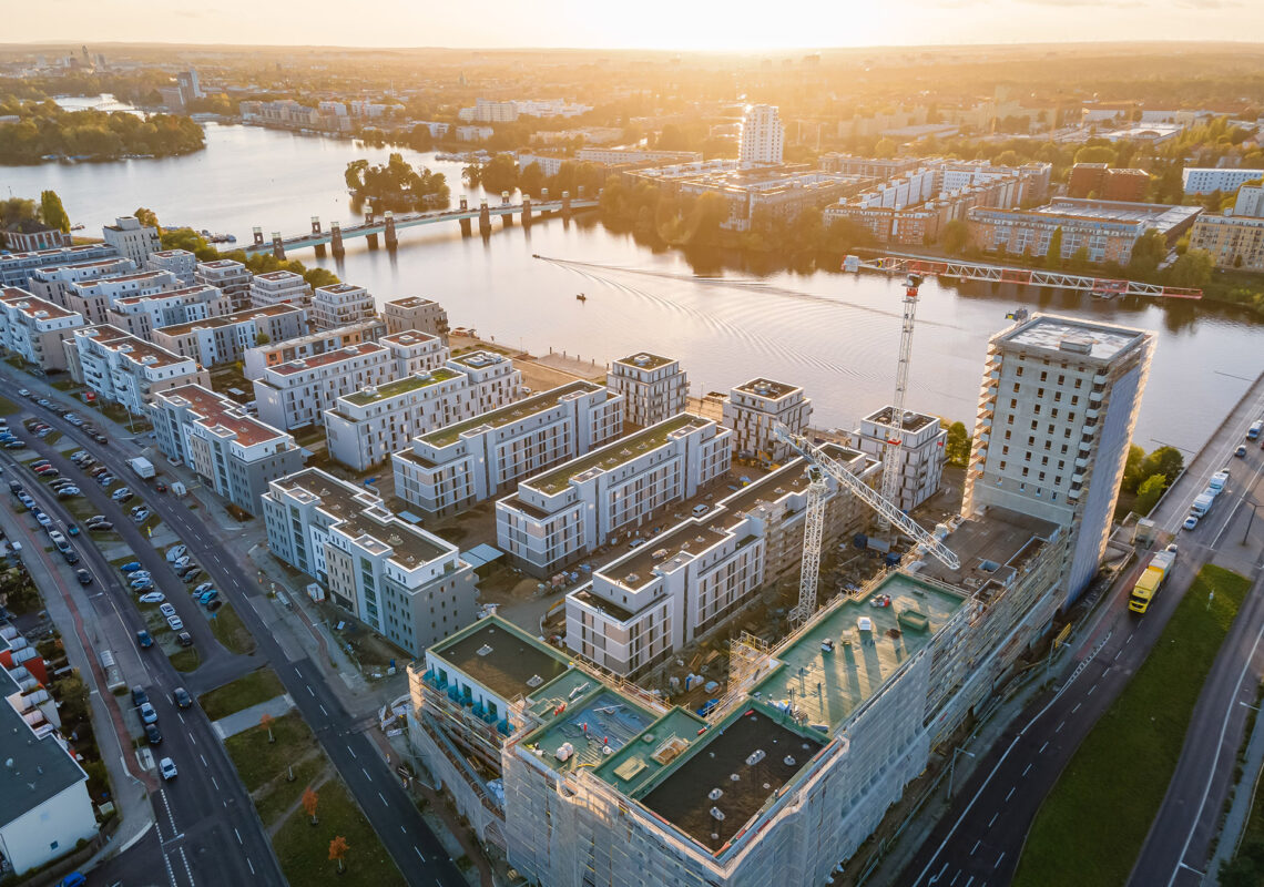 Luftbild WATERKANT Berlin