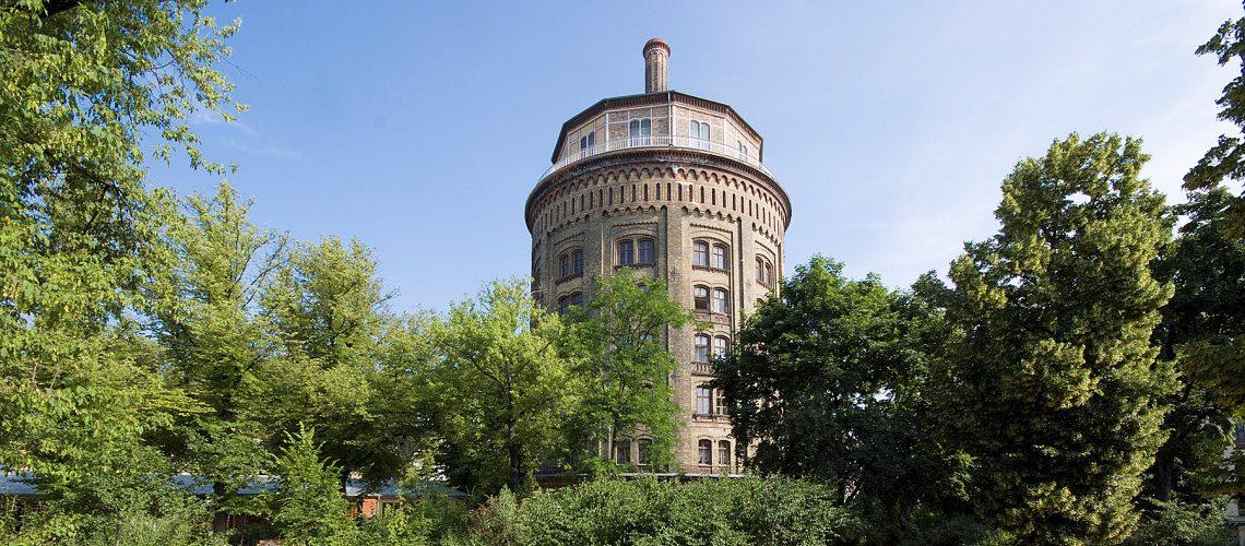 Wasserturm im Kollwitzkiez unter Denkmalschutz