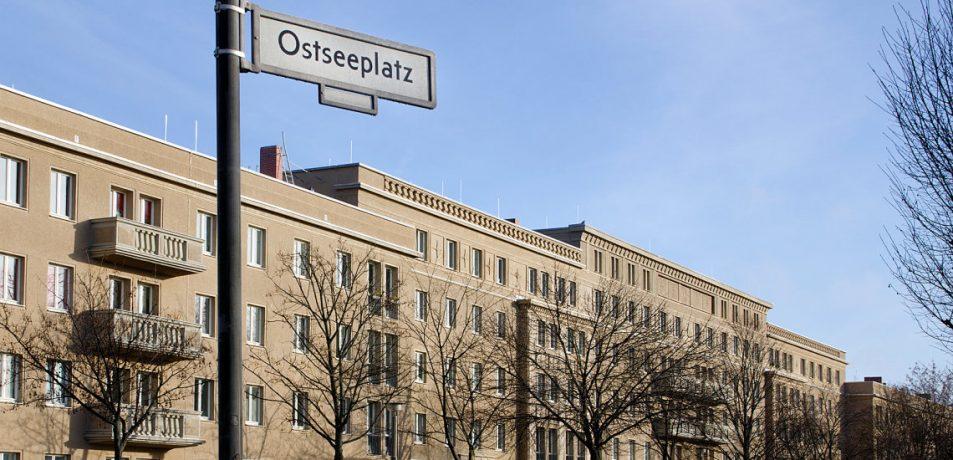 Denkmalschutzobjekt der Gewobag am Ostseeplatz