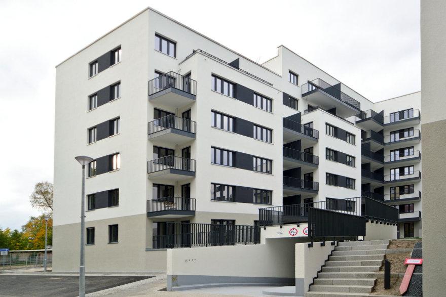 Neubau mit Mietwohnungen und Tiefgarage am Mauerpark