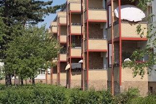 Moderne Balkonkonstruktion