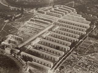 Reichforschungssiedlung im Bau (1931)