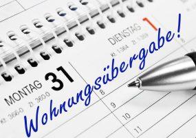Kalendereintrag zur Wohnngsübergabe