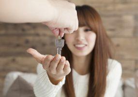 Schlüsselübergabe bei Untervermietung