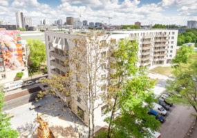 Visualisierung des Neubauprojekts der Gewobag in der Franz-Klühs-Straße