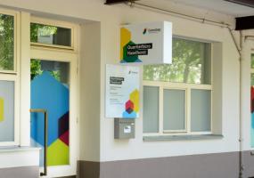 Quartierbüro der Gewobag in Haselhorst