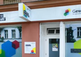 Das Quartierbüro der Gewobag am Klausenerplatz