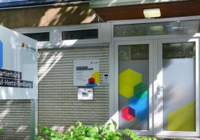 Das Quartierbüro der Gewobag in der Paul-Hertz-Siedlung