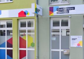 Das Quartierbüro der Gewobag in Spandau