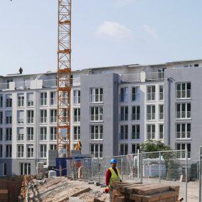 Neubauprojekt der Gewobag am Sachsendamm