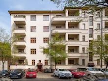 Foto vom Wohnhaus in der Kuglerstraße in Berlin-Prenzlauer Berg