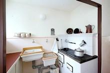 Foto der Küche der Museumswohnung in Berlin-Haselhorst