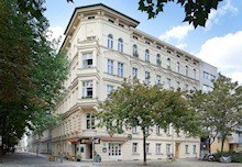 Foto eines Hauses in der Nollendorfstraße in Berlin-Schöneberg