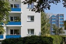Foto von einem Wohnhaus in der Quäkerstraße in Berlin-Reinickendorf