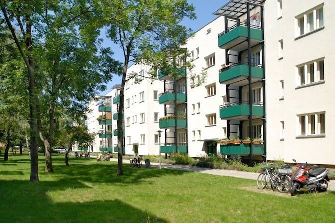 Gebäude unter Denkmalschutz in Berlin Haselhorst