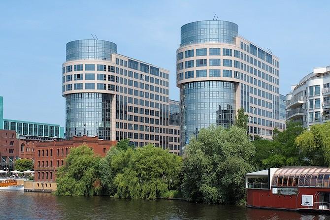 Unternehmenszentrale der Gewobag im Spreebogen in Berlin-Moabit