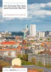 Cover vom Jahresbericht 2016