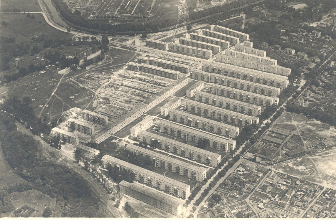Foto von Haselhorst aus der Historie der Gewobag
