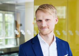 Benjamin Vahle ist Ansprechpartner und Kontakt für Unternehmen zum Thema Start-Ups