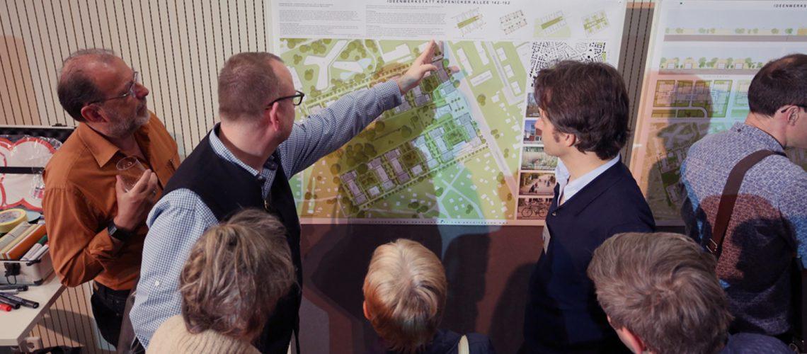 Veranstaltung zur Bürgerbeteiligung bei Projekten
