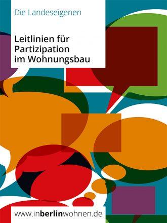 Cover der Leitlinien für Partizipation im Wohnungsbau