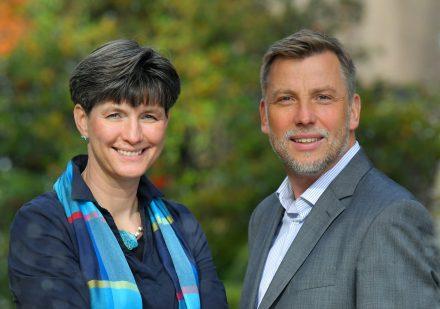 Die Geschäftsführung Nicole Wilke und Boris Drigalski