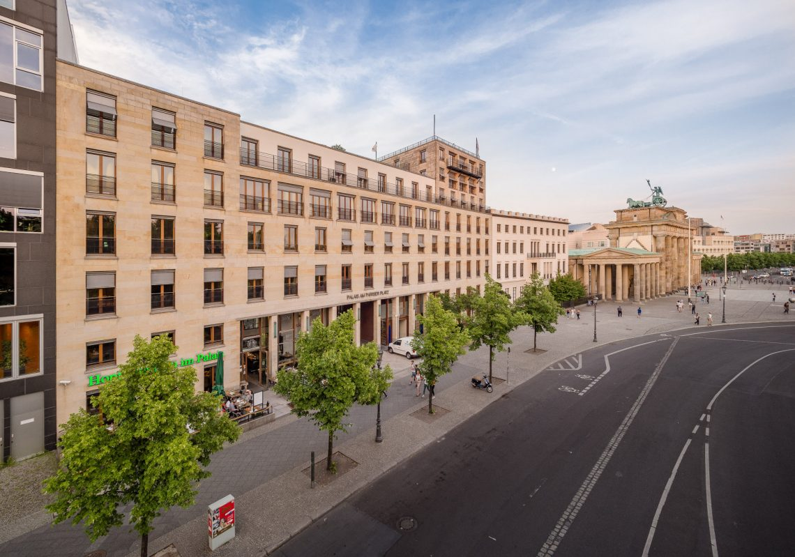 Referenz der Gewobag am Pariser Platz / Ebertstraße