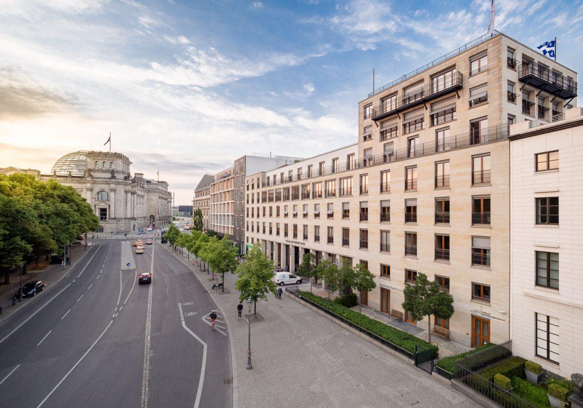 Hausansicht der Referenzen der Gewobag am Pariser Platz / Ebertstraße, 10117 Berlin-Mitte