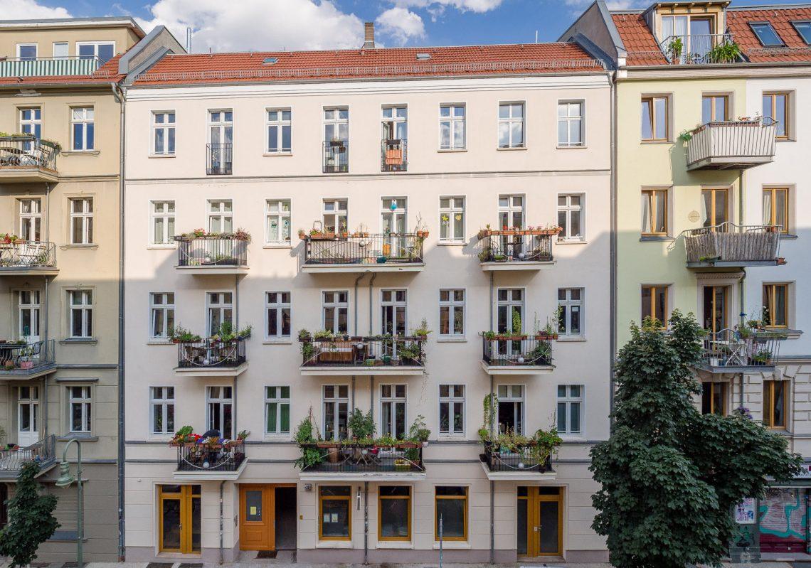 Referenzen der Gewobag in der Schliemannstraße