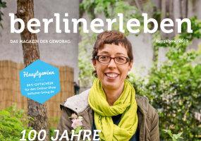 Cover vom Kundenmagazin der Gewobag