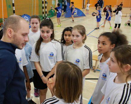 Coaching beim Projekt Alba macht Schule