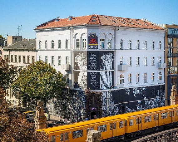 Fassade vom URBAN NATION Museum der Stiftung Berliner Leben