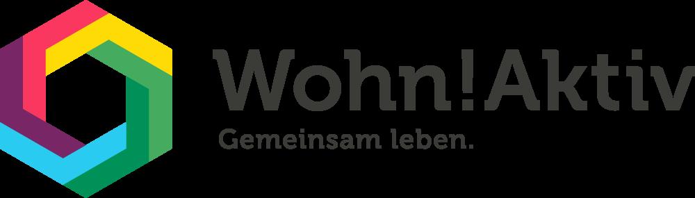 """Das """"Wohn!Aktiv.""""-Logo der Gewobag."""