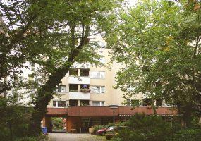 Außenansicht Mietshaus Gneisenaustr. 12