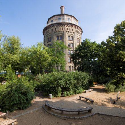 Wasserturm im Kollwitzkiez in Prenzlauer Berg