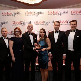 "Gewobag erhält ""Best Schuldschein Deal of the Year""-Award bei den GlobalCapital Loan Awards 2020 in London"