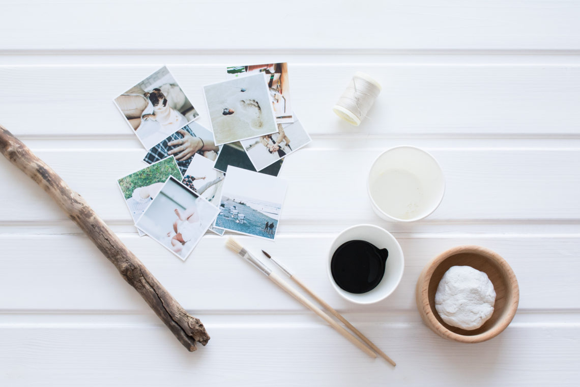 Collage Schritt 1: DIY Wanddeko