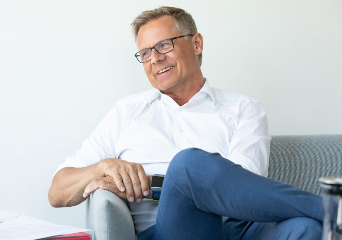 Karsten Mitzinger, Geschäftsführer der Gewobag ED