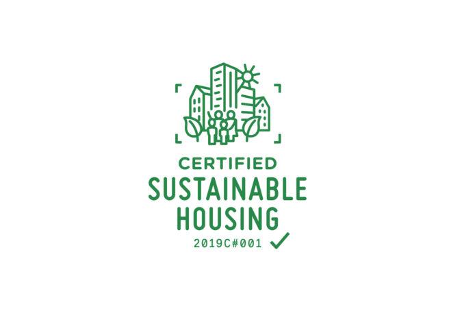 Logo für Certified Sustainable Housing