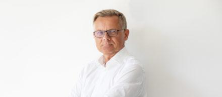 Karsten Mitzinger beim Interview zu Speichertechnologien.