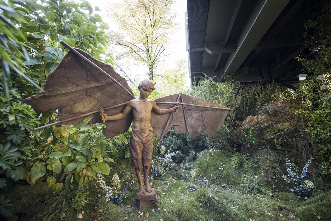 Kunstwerk von Coderch & Malavia bei der Urban Nation Biennale