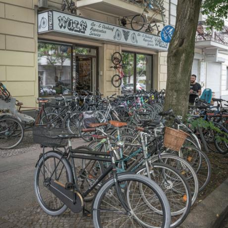 Fahrradladen Wulf Prenzlauer Berg Fassade