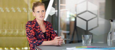 Kiezkoordinatorin Anna Müller im Interview bei der Gewobag