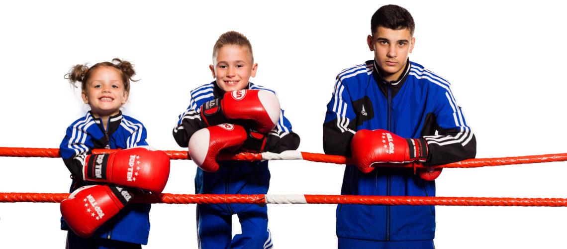 Junge Boxer von Wir aktiv. Boxsport & mehr